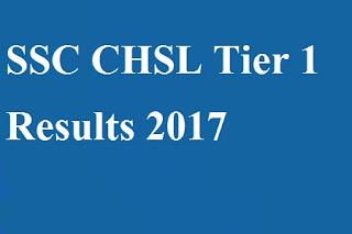 SSC CHSL Result ssc.nic.in