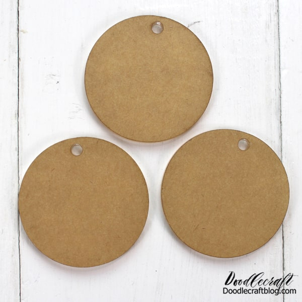 "Supplies Needed for Acrylic Ornaments: Acrylic Circle Blanks 1/8"" Ribbon Paint/Paintbrush Permanent Marker Permanent Vinyl Cricut Maker Engraving Tool"