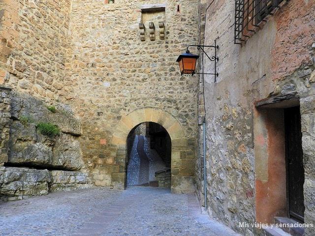 Portal de Molina, Albarracín, Teruel, Aragón