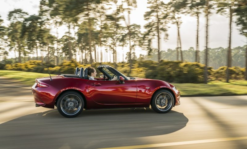 Painting Mazda's unique colour history