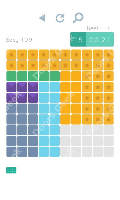 Cheats, Walkthrough for Blocks and Shapes Level 109