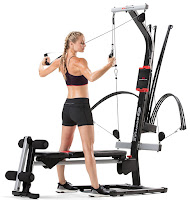 Bowflex PR1000 100661 MY17 Home Gym in action
