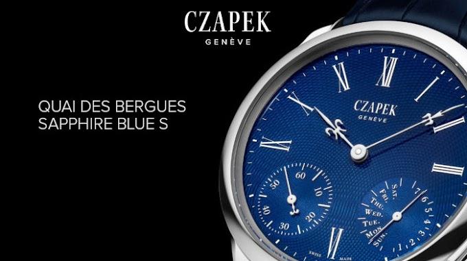 CZAPEK - Quai des Bergues Sapphire Blue S