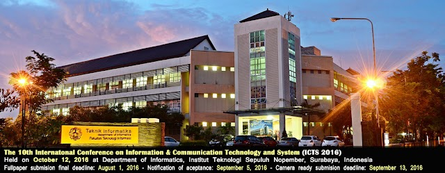 Kumpulan Paper 10th International Conference on Information, Communication Technology and System (ICTS) 2016