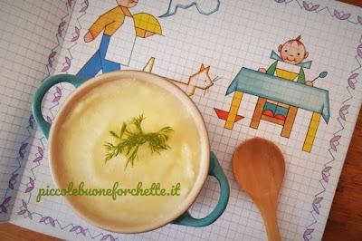 ricetta semolino al finocchio per bambini
