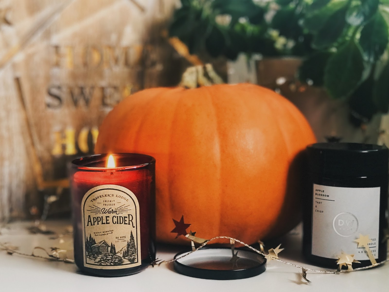 candle pumpkin autumn blog blogger favourites