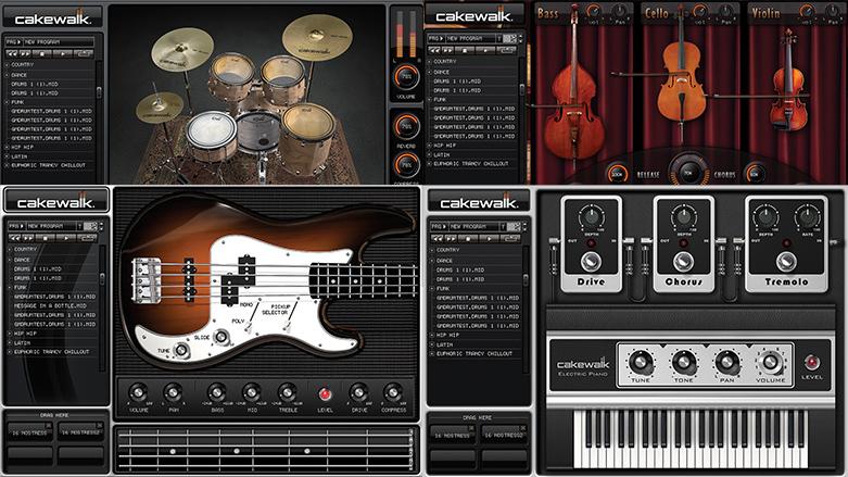 Cakewalk Studio Instruments - SOFVST