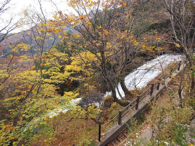 日本ロマンチック街道 湯滝上部