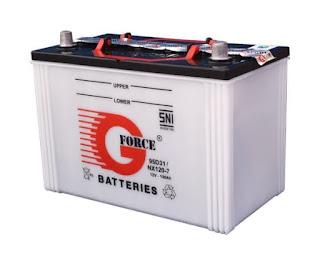 Komponen Sistem Pengapian Konvensional, baterai