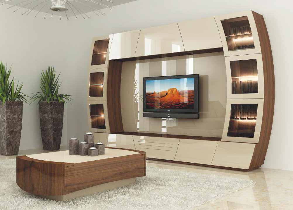 Top 40 modern TV cabinets designs - Living room TV wall ... on Living Room Wall Units id=99686