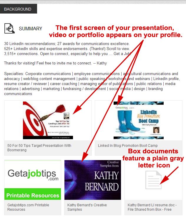 display work samples on your LinkedIn profile, work samples, improve your LinkedIn profile,
