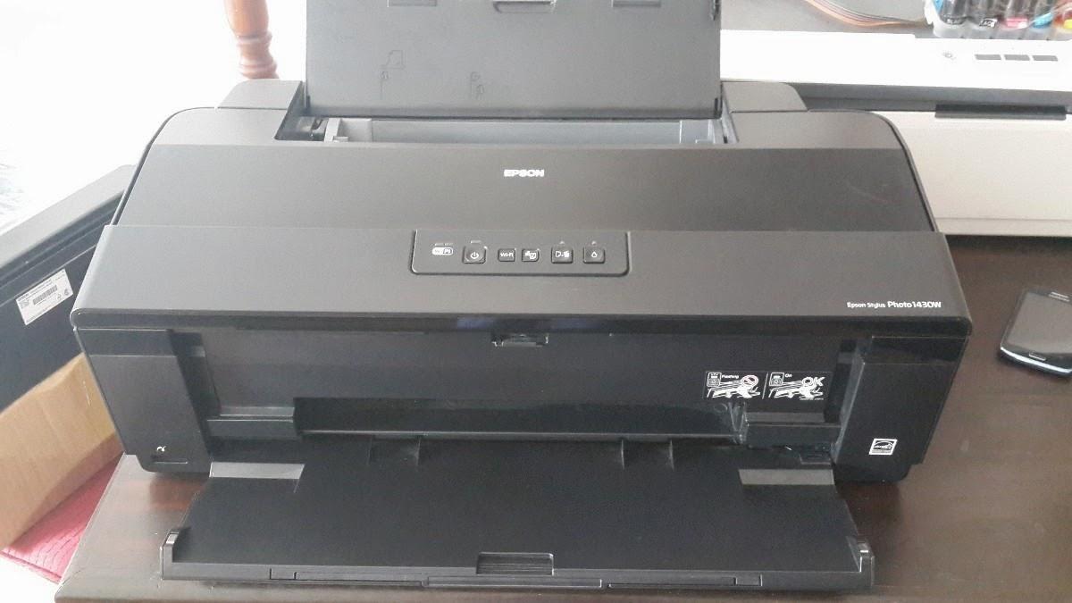 impresora epson stylus 1430w y el restablecimiendo de las almohadillas