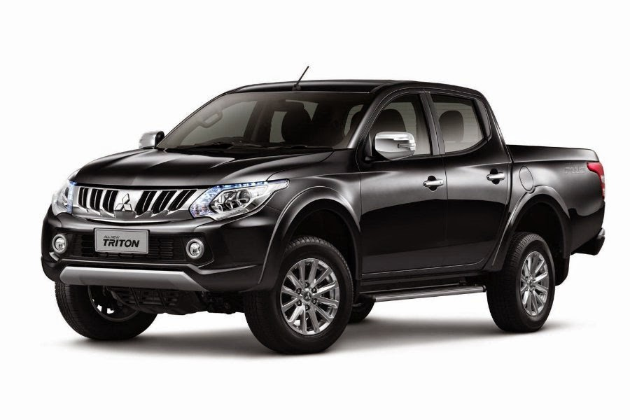 2015 mitsubishi l200 pick up revealed autoesque. Black Bedroom Furniture Sets. Home Design Ideas