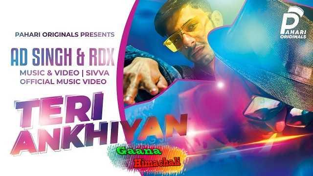 Teri Ankhiyan mp3 Song Download RD Singh  ~ Gaana Himachali