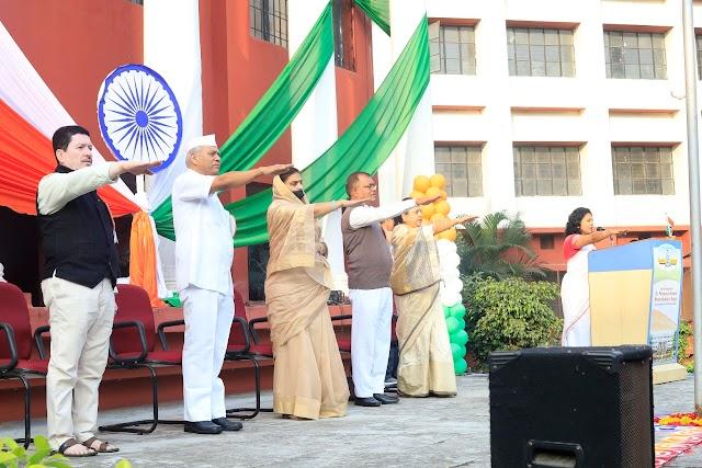 भारताने वेगवेगळ्या क्षेत्रात केलेली प्रगती अभिमानास्पद - मा. विजयमाला कदम