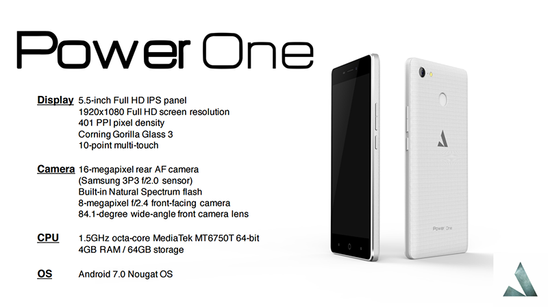 The specs of Power One!