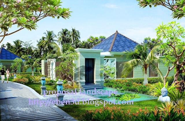 Drafter 3D Bungalow Bali