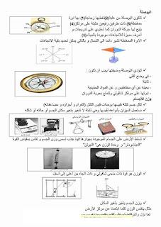 17 - ملخص دروس الايقاظ العلمي سنة سادسة صور