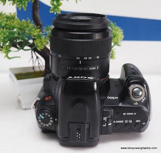 Jual Kamera Sony Alpha A500 Bekas - Banyuwangi