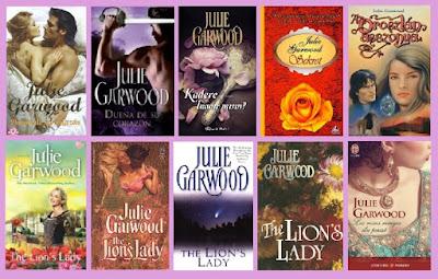 portadas de la novela romántica histórica Dueña de su corazón. de Julie Garwood