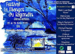Affiche Festival le Mangot du Ragondin