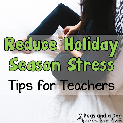 The weeks leading up to the holiday break can be very stressful if you don't plan ahead. Read below for our top tips for reducing stress before, during and after the holiday break from the 2 Peas and a Dog blog.
