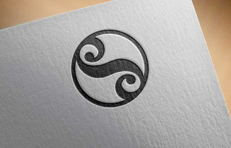 Download Free Yin Yang Symbol Logo for Business