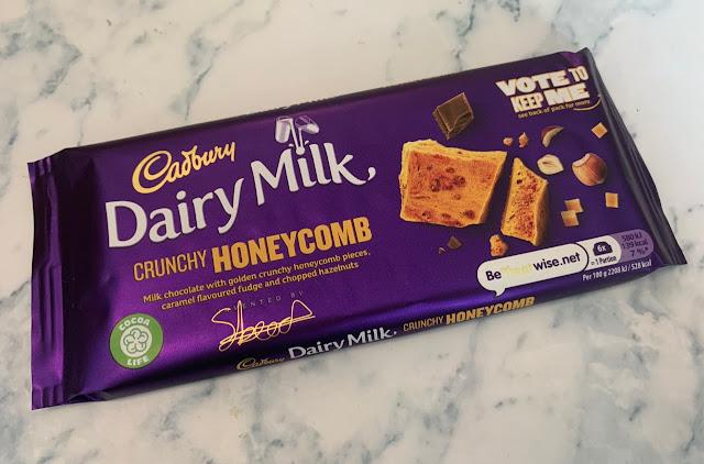 Cadbury Dairy Milk – Crunchy Honeycomb