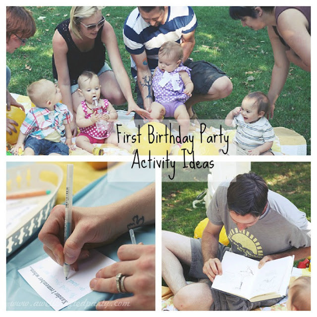 first birthday activity ideas a well crafted party