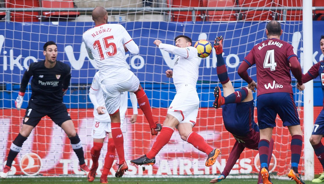 نتيجة مباراة اشبيلية وايبار اليوم الخميس 26/09/2019 الدوري الإسباني