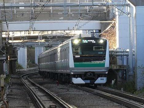 【ダイヤ改正で早朝1本新設!】埼京線内 快速となるE233系