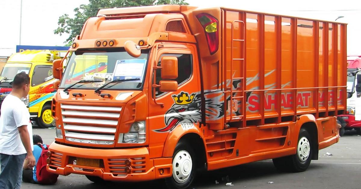 Kumpulan Gambar Modifikasi Mobil Truk Canter Lampung