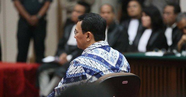 BREAKING NEWS! Ahok di Vonis 2 Tahun Penjara oleh Hakim