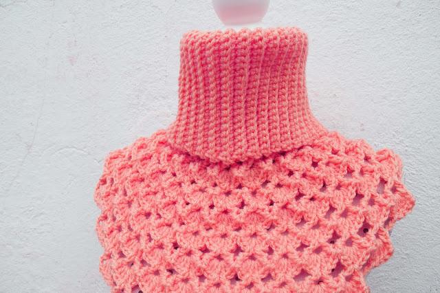 3- Crochet Imagen Cuello Japonés a crochet y ganchillo por Majovel Crochet