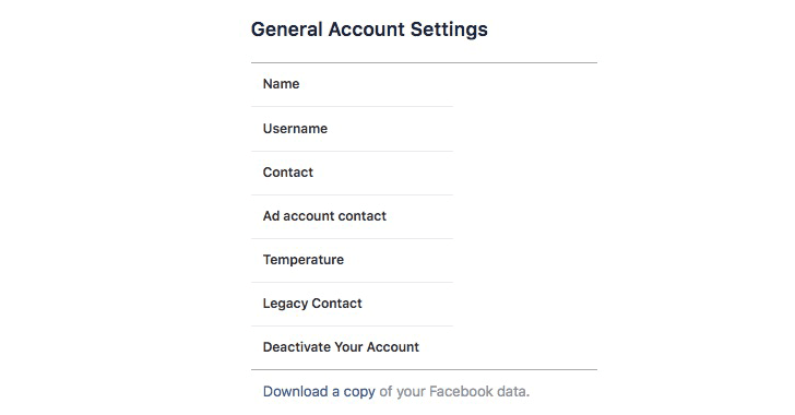 facebook privacy data 2 - How to find out what Facebook knows about You?