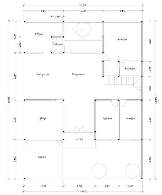 House with floor area of 400 square meters - 03