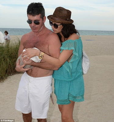 Simon cowell and son