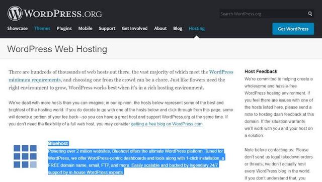 memilih layanan hosting yang andal akan menjadi salah satu keputusan paling penting yang  Dapatkan akun hosting web di Bluehost