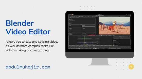 blender Software Video Editing