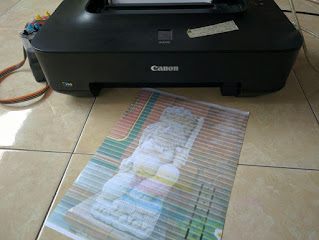 Memperbaiki Printer Cannon Pixma IP2770