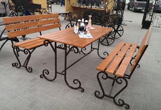 Кованая мебель для ресторана Волгоград