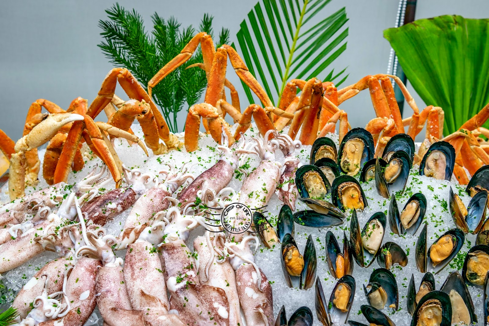 Seafood Galore Buffet Dinner with Live Seafood & Free Flow of Beer @ Hompton by The Beach, Penang