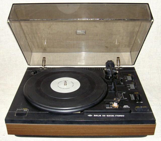 """Проигрыватель """"Arija EU-5208B-Stereo"""""""