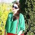 Czerwień plus zieleń, czyli odważne połączenie kolorów w wiosennej stylizacji (11)