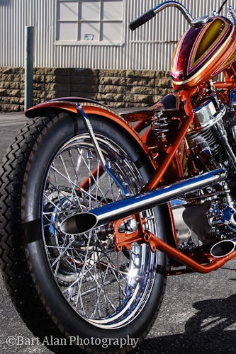 Harley Davidson Panhead By LA Speed Shop Hell Kustom