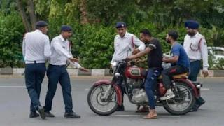 New traffic niyam or jurmane and rules