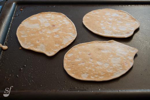 fluffy pancakes épais