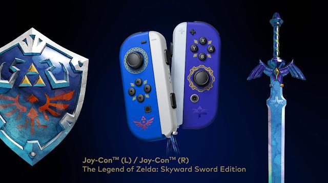 Joy-Con The Legend of Zelda: Skyward Sword Edition Hylian Shield Master Sword