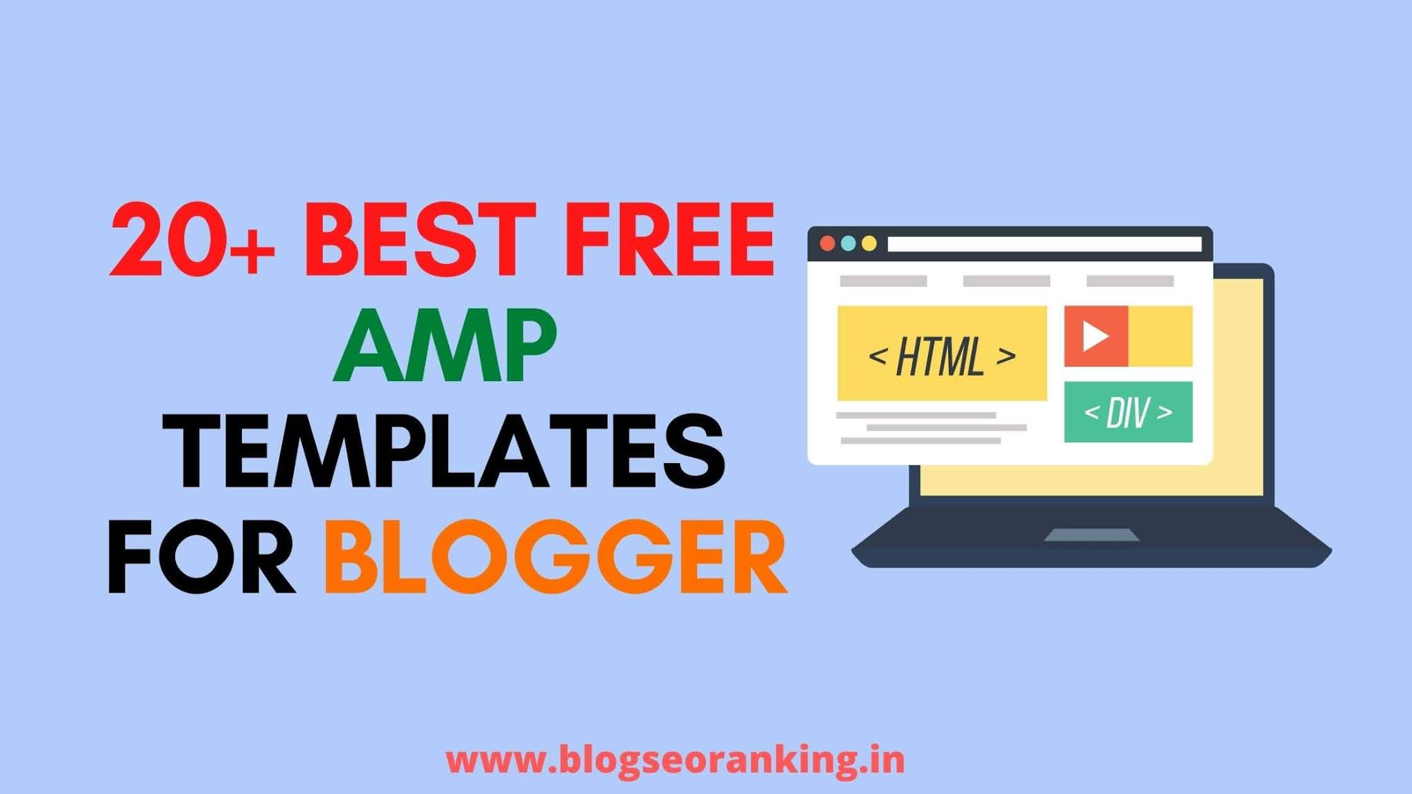 20-best-free-AMP-blogger-templates