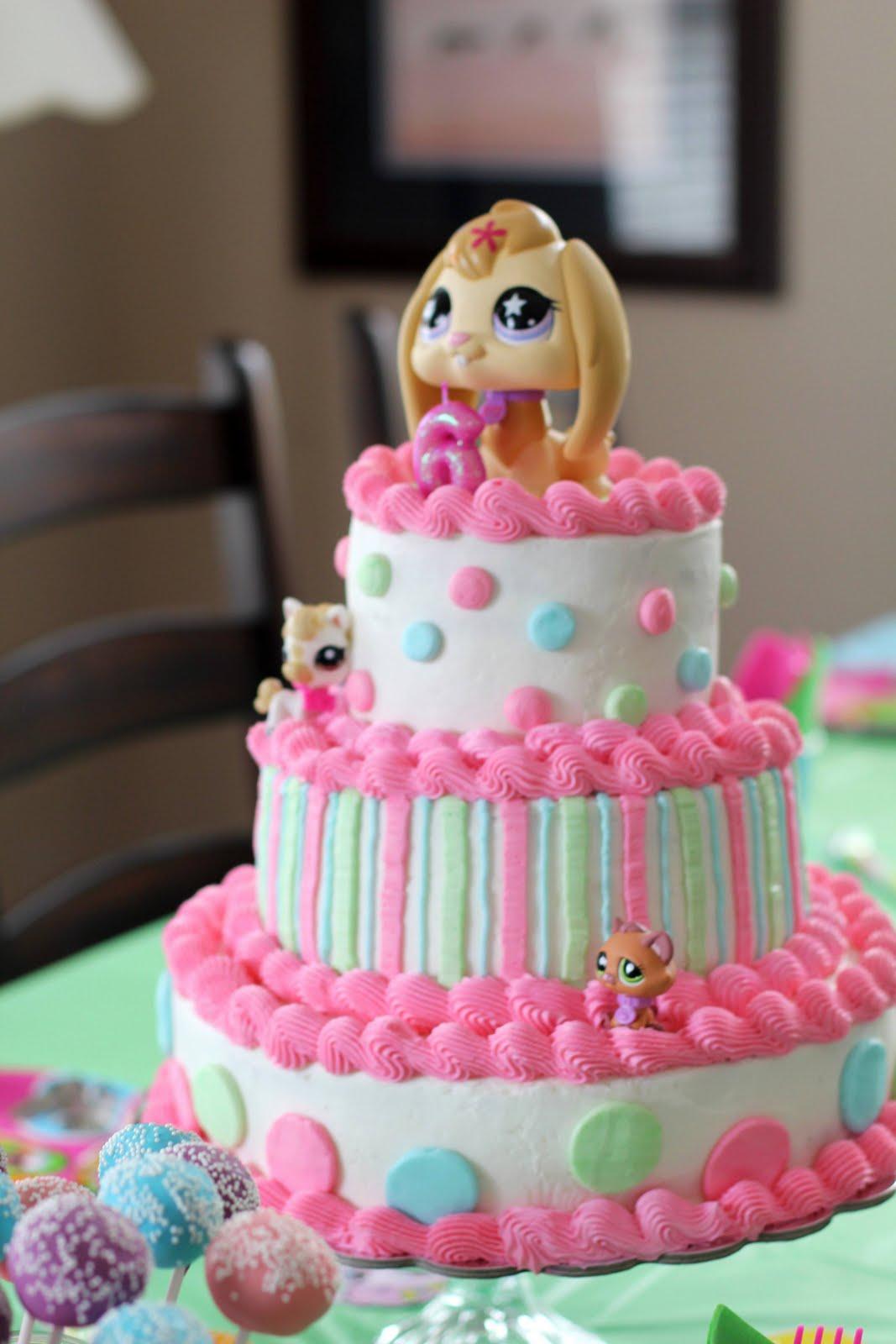 Lps Birthday Cakes